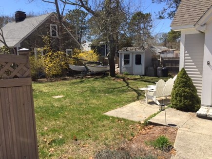 West Yarmouth Cape Cod vacation rental - Large backyard - Bring your boat.