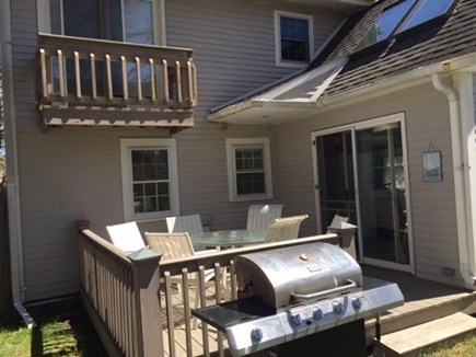West Yarmouth Cape Cod vacation rental - Deck with Juliet deck to master bedroom