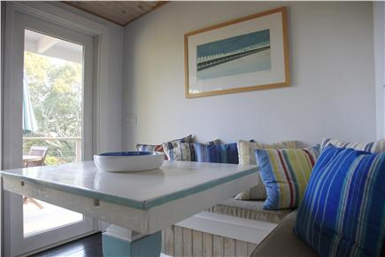 Provincetown Cape Cod vacation rental - Breakfast Nook