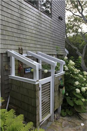 Provincetown Cape Cod vacation rental - An Outdoor shower is great after a day at the beach