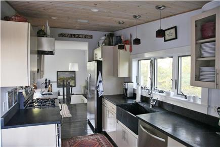 Provincetown Cape Cod vacation rental - Kitchen out onto the 2nd floor deck