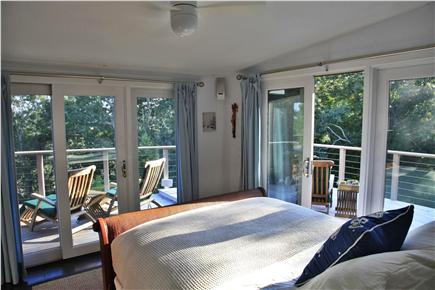 Provincetown Cape Cod vacation rental - 2nd Floor bedroom with deck