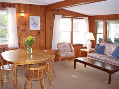Dennis Cape Cod vacation rental - Livingroom /diningroom