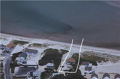 Dennis Cape Cod vacation rental - Aerial view of house