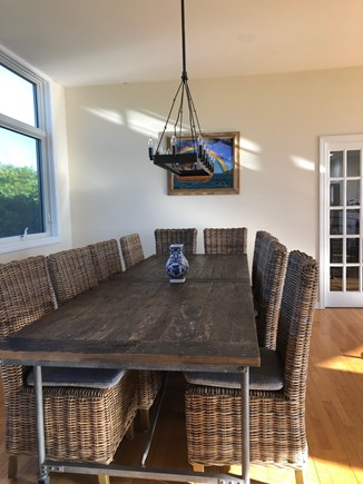 North Truro Cape Cod vacation rental - Dining table--seats 12