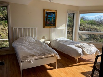 North Truro Cape Cod vacation rental - Twin bedroom on first floor