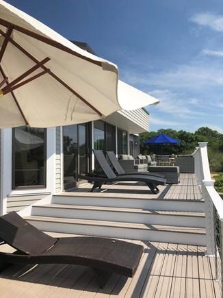 North Truro Cape Cod vacation rental - Main deck