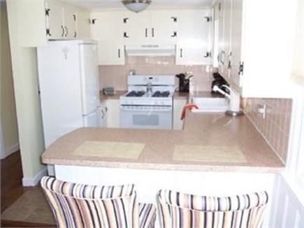 Dennis Port Cape Cod vacation rental - Updated kitchen with breakfast bar