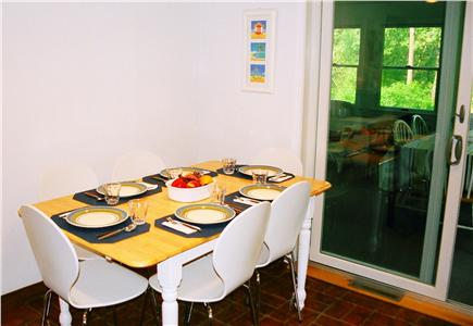 Harwich Cape Cod vacation rental - Light and airy eat-in kitchen