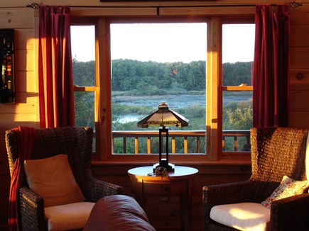 Provincetown Cape Cod vacation rental - Relax in the Havana chairs overlooking Shank Painter Pond,
