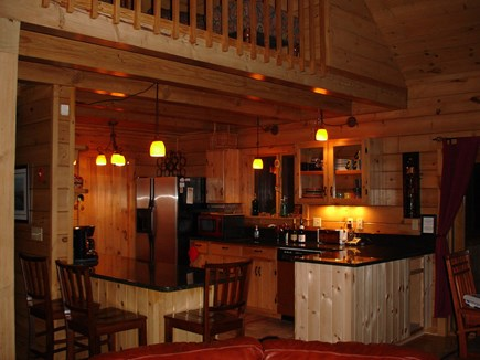 Provincetown Cape Cod vacation rental - Spacious gourmet kitchen with granite and high-end accountrement