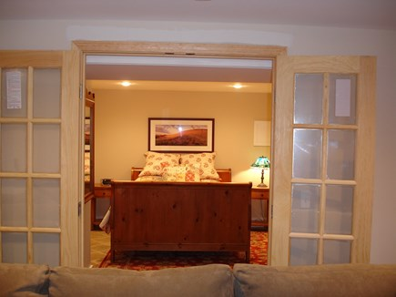 Provincetown Cape Cod vacation rental - Lower level includes entertainment room with foosball and bedroom
