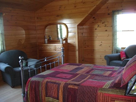 Provincetown Cape Cod vacation rental - 2nd bedroom upstairs - large, airy and bright with high ceilings