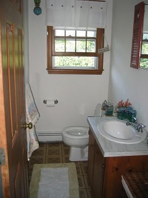 Sandwich, Town Neck Beach and Boardwalk Cape Cod vacation rental - Half Bath on first floor