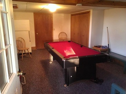 Wellfleet Cape Cod vacation rental - Basement game room with option for ping pong or pool