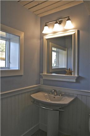 Chequessett Neck Wellfleet Cape Cod vacation rental - Brand new 1/2 bath on main level