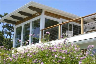 Chequessett Neck Wellfleet Cape Cod vacation rental - Panoramic views from every window.