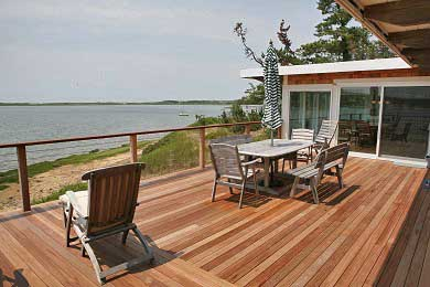Chequessett Neck Wellfleet Cape Cod vacation rental - Spectacular  180' water view from the deck