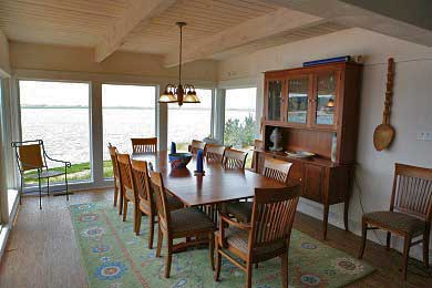 Chequessett Neck Wellfleet Cape Cod vacation rental - Watch the sunset  while you dine