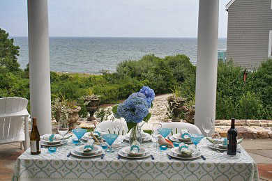 New Seabury, Mashpee New Seabury vacation rental - enjoy fantastic outdoor ocean front dining on expansive patio