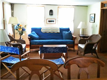 Truro, Longnook valley Cape Cod vacation rental - Living room