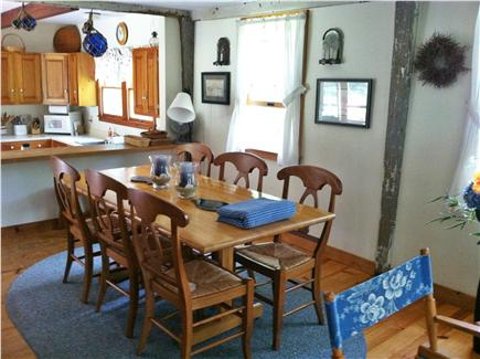 Truro, Longnook valley Cape Cod vacation rental - Dining room looking into kitchen