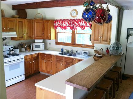 Truro, Longnook valley Cape Cod vacation rental - Kitchen from the dining room