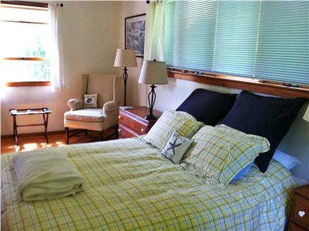 Truro, Longnook valley Cape Cod vacation rental - Master bedroom on first floor with queen bed