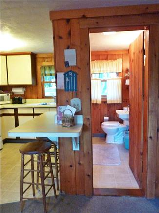 Dennis near Mayflower Beach Cape Cod vacation rental - Full Bath Downstairs