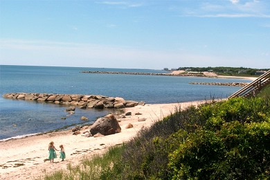So. Chatham Cape Cod vacation rental - Collecting sea shells