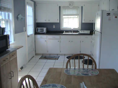 West Dennis Cape Cod vacation rental - Kitchen with Dining area