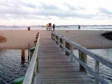 West Yarmouth Cape Cod vacation rental - Footbridge to Colonial Acres beach, 3/10 mile from house