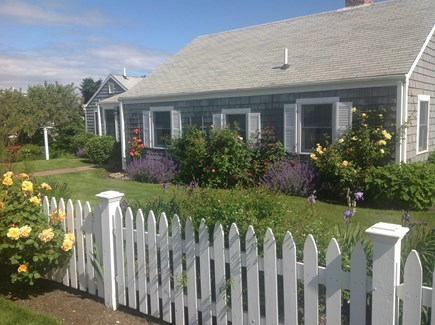 East Dennis/Sesuit Harbor Cape Cod vacation rental - Flowers are a must!