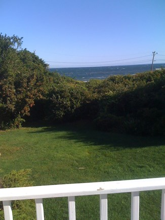 East Dennis/Sesuit Harbor Cape Cod vacation rental - Beautiful Cape day on the deck