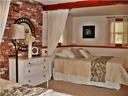 Hyannis Cape Cod vacation rental - Master Bedroom- 2 queen beds with Memory Foam