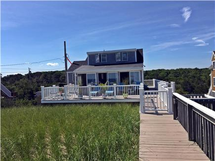 Sandwich Cape Cod vacation rental - Cottage view from the beach