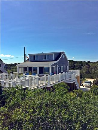 Sandwich Cape Cod vacation rental - View through the beach plum