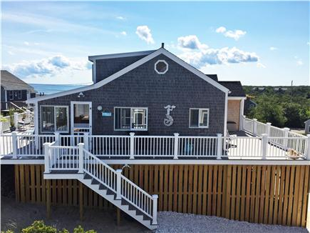 Sandwich Cape Cod vacation rental - Side view with a peek of the Bay
