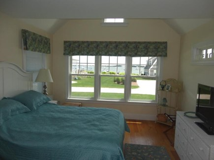 West Yarmouth Cape Cod vacation rental - Master bedroom with water view and private bath