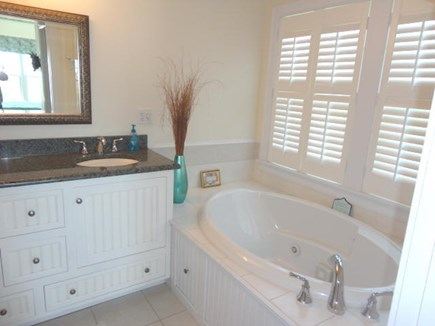 West Yarmouth Cape Cod vacation rental - Jetted tub in master bedroom bath