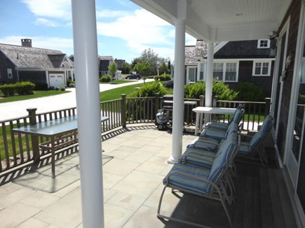 West Yarmouth Cape Cod vacation rental - Covered deck