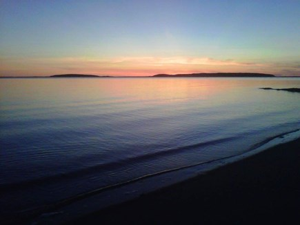 Wellfleet Cape Cod vacation rental - Walk 1/10th of a mile to the private Bay beach, for sunsets !