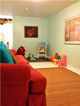 Wellfleet Cape Cod vacation rental - Bonus room on the lower level, complete with toys