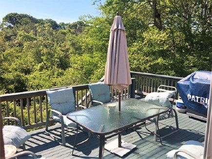 West Yarmouth Cape Cod vacation rental - Private Deck