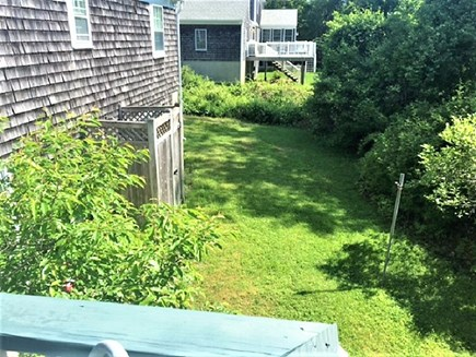 West Yarmouth Cape Cod vacation rental - Backyard with outside shower