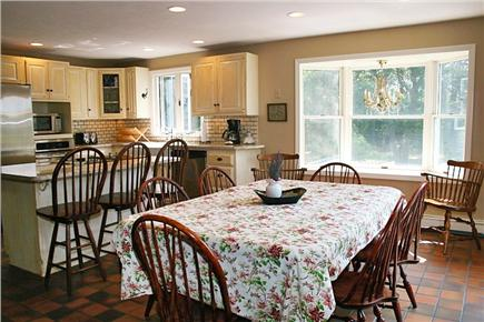Harwichport Cape Cod vacation rental - Roomy dining area and kitchen allow optimal family time.