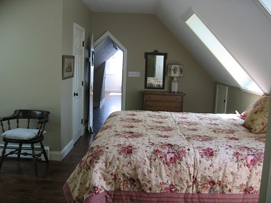 Harwichport Cape Cod vacation rental - Second Master Bedroom, Upstairs w/King Bed and separate bath.