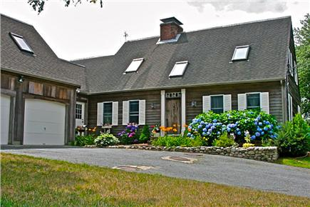 Harwichport Cape Cod vacation rental - Situated 800' off Gorham, the long driveway is a special treat.