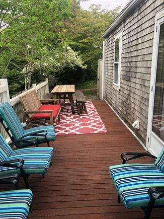 Osterville (In town) Osterville vacation rental - Back deck