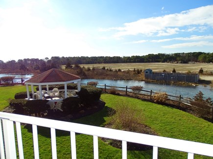 South Yarmouth Cape Cod vacation rental - View from living room, and both bedrooms
